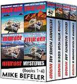 Mike Befeler Paul Jacobson Geezer-lit Mystery Series E-Book Box Set